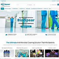 Bio Spear Shop Website Project