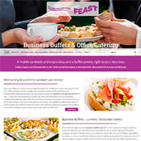 Feast Sandwich Vans Website Project